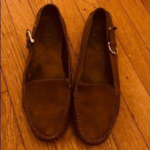 Genuine Burberry Sadle Loafers